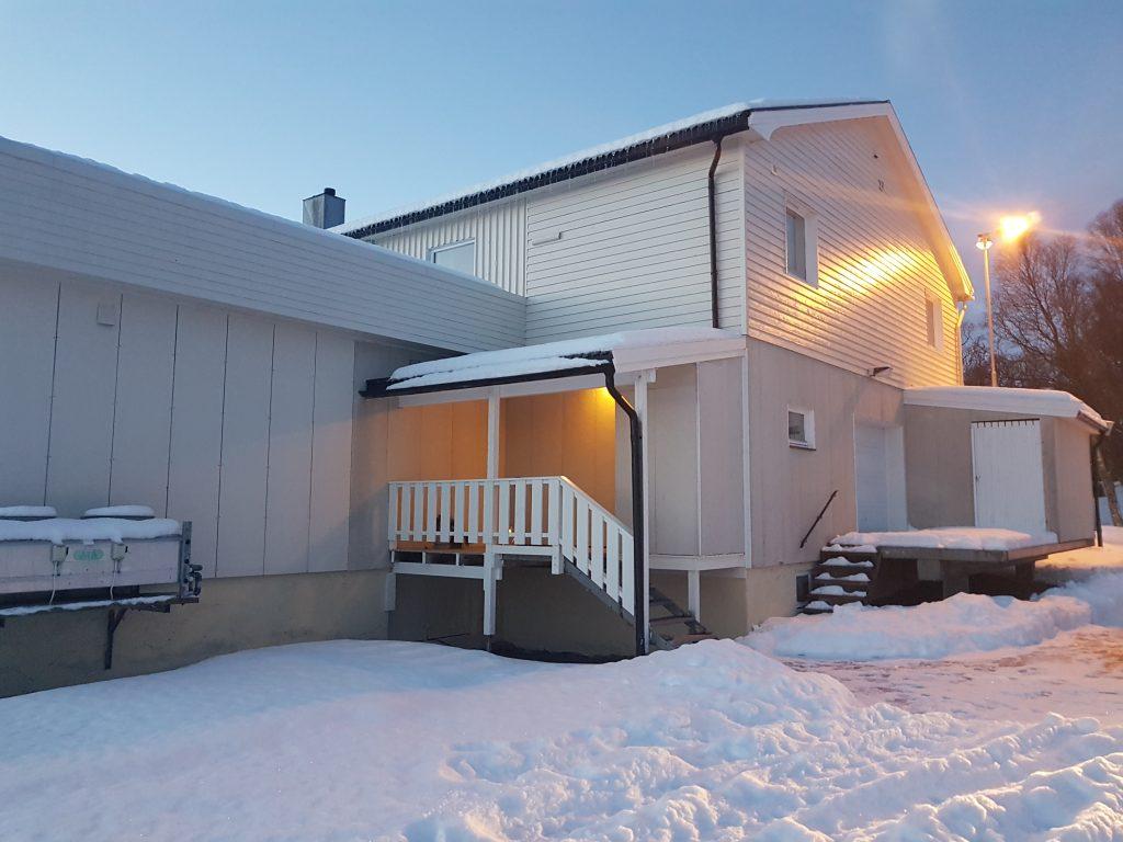 Il nostro appartamento sull'isola di Andøya, il secondo alloggio low cost.