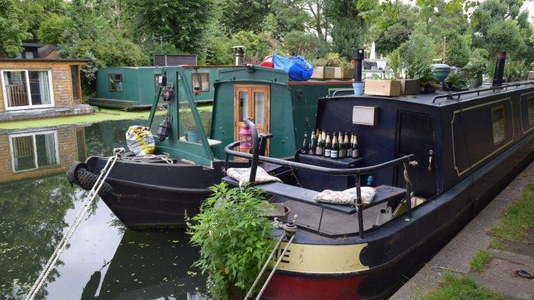 Le imbarcazioni di Little Venice