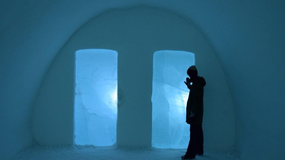 SVEZIA, KIRUNA: VISITA ALL'ICE HOTEL, L'HOTEL DI GHIACCIO PIÙ GRANDE DEL MONDO