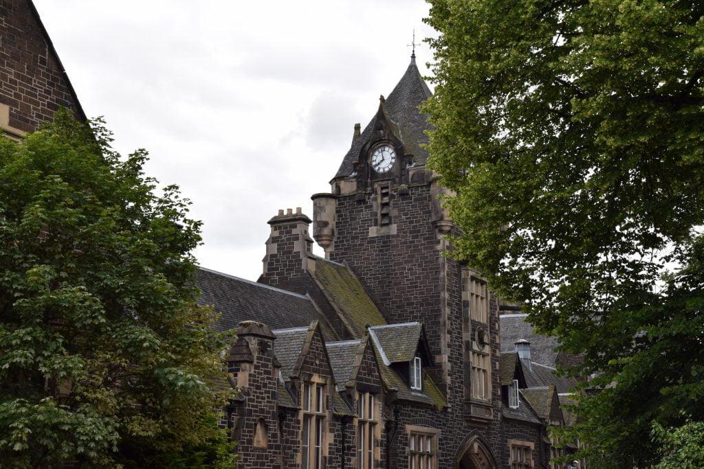 Edifici nella Old town di Stirling, prima tappa del nostro viaggio in Scozia.