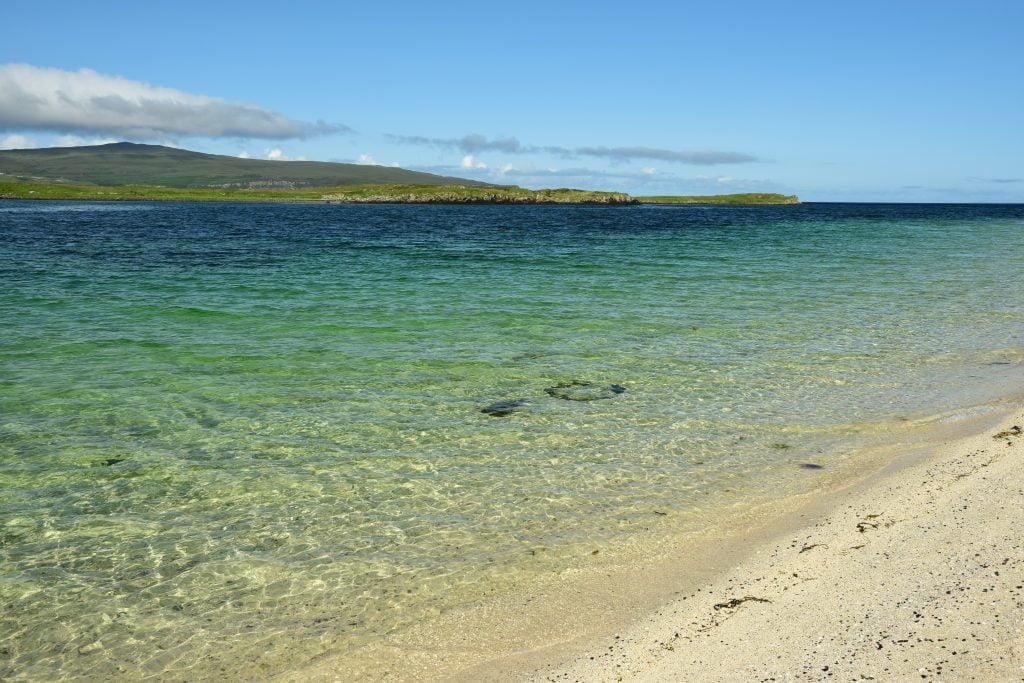 Cosa vedere sull'isola di Skye: le Coral Beaches non possono mancare (sabbie bianche e mare cristallino).