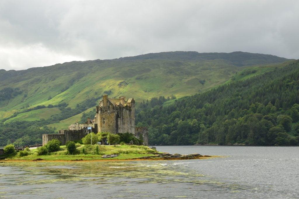 Dunvegan Castle, il famoso castello che si trova sull'isola di Skye.
