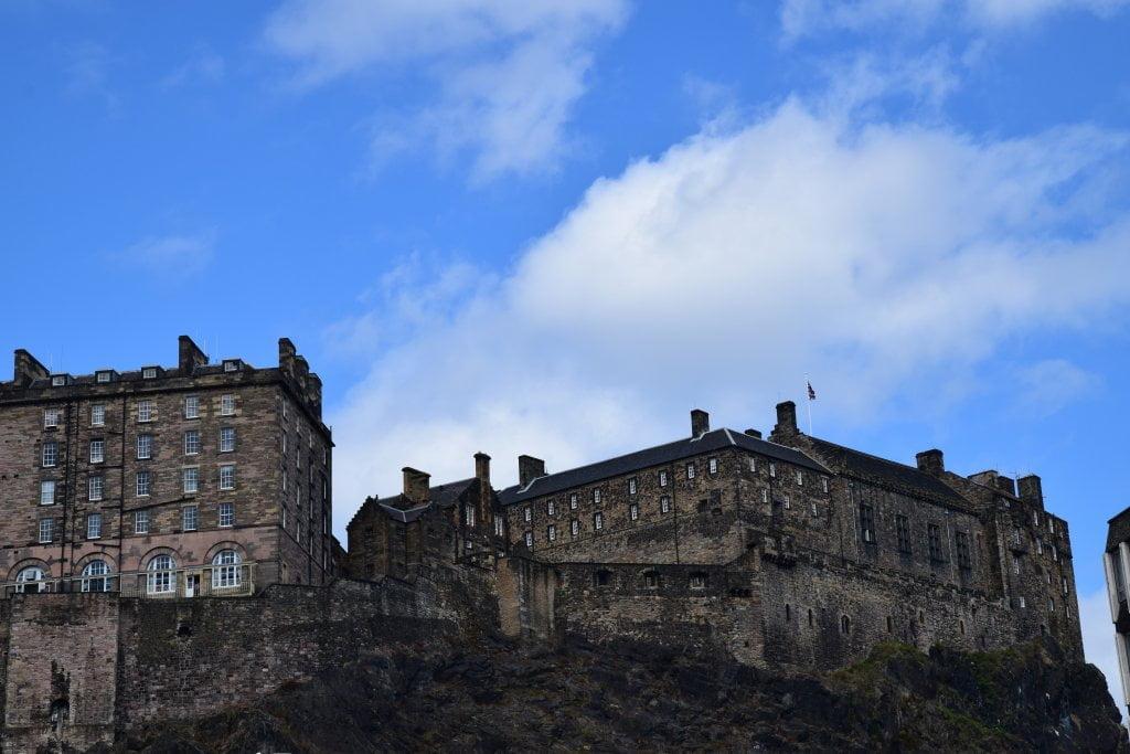 Il castello di Edimburgo.