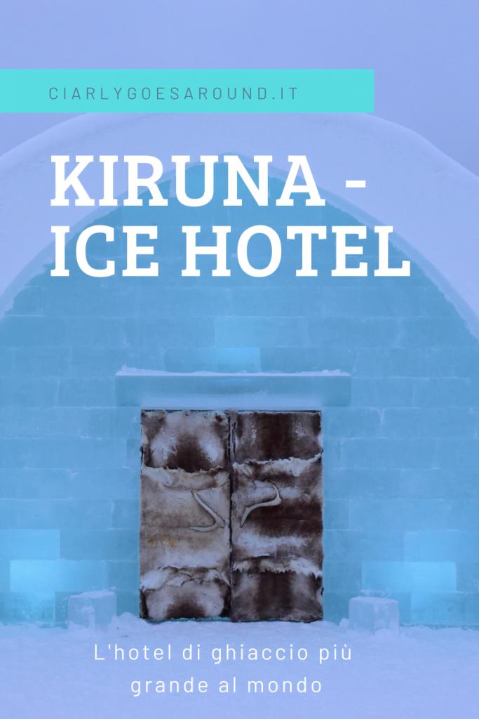 Copertina di Pinterest Ice Hotel