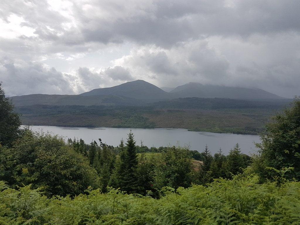 Il lago di Loch Ness.
