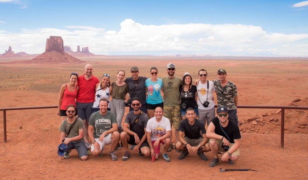 Il gruppo del Farwest Discovery.