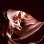 Antelope Canyon forma a cuore