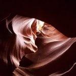 Antelope Canyon forma a cuore