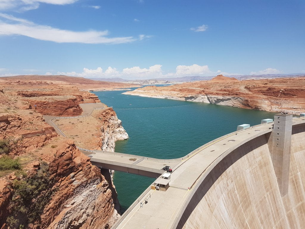 Road trip negli USA: la diga di Glen Canyon Dam Overlook.