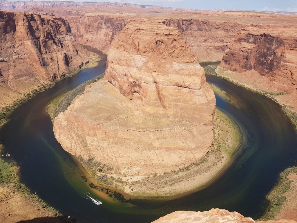 Road trip negli USA: Horseshoe bend.