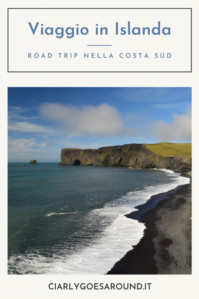 Copertina Pinterest Viaggio in Islanda