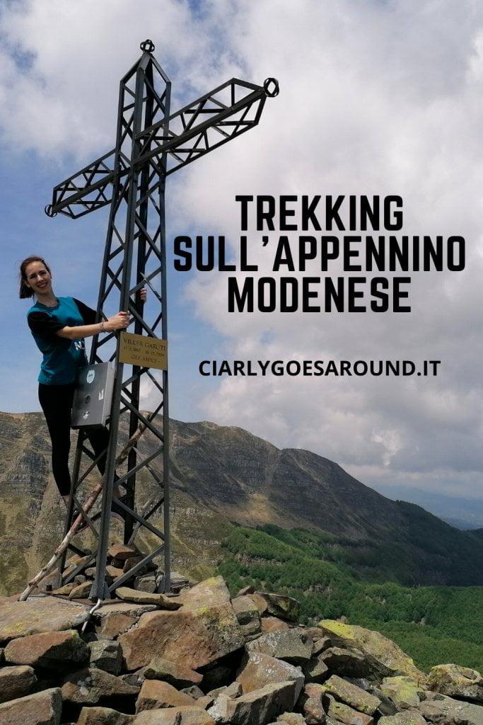 Copertina Pinterest: Trekking in emilia Romagna - trekking sull'appennino modenese