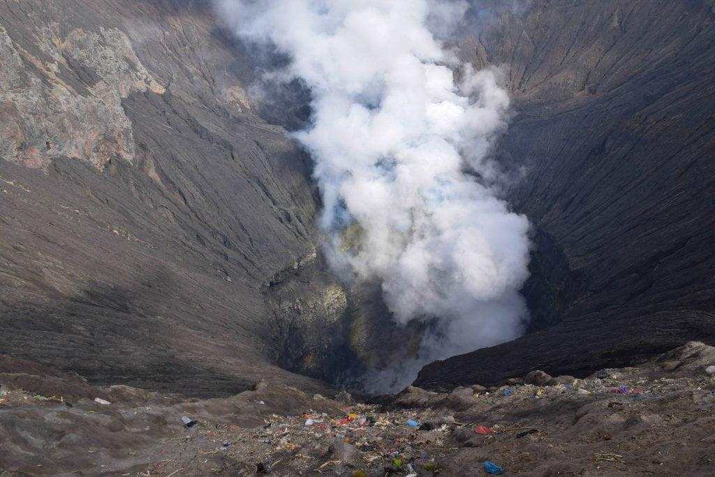 I fumi del vulcano Bromo.