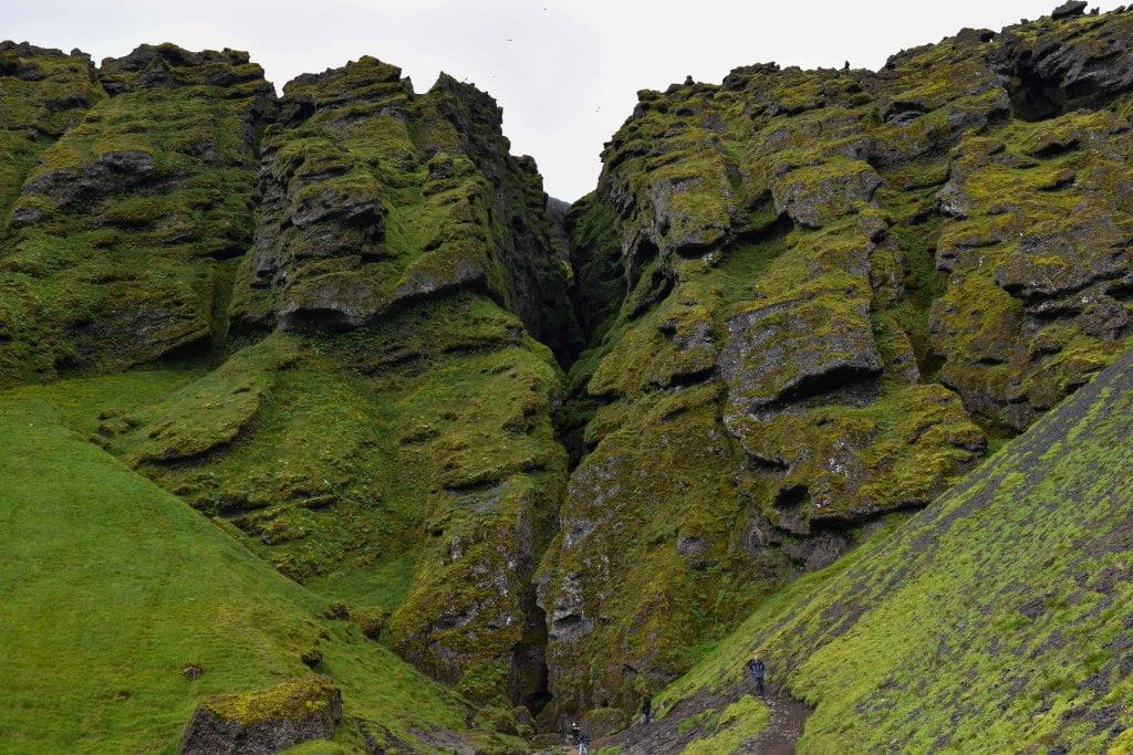 Cosa vedere in Islanda: l'Ingresso della gola.