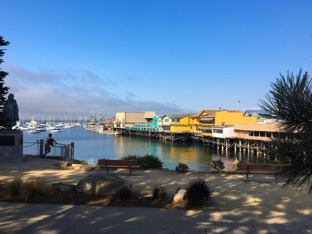 La cittadina di Monterey.