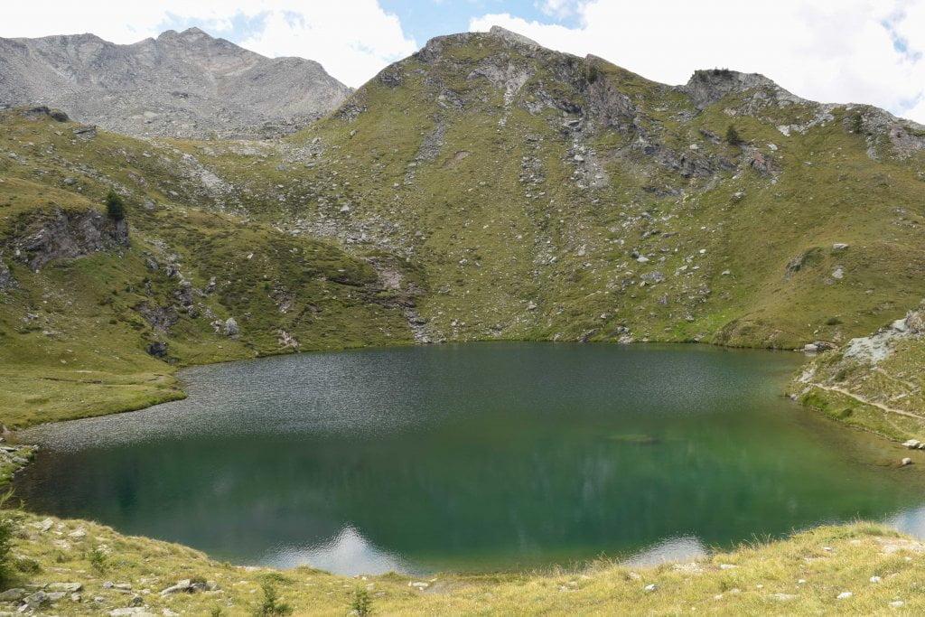Vacanze a Cogne: il lago Loie.