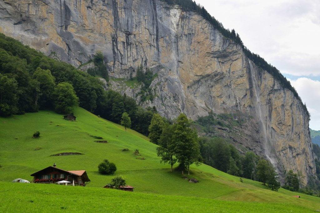 Cascata Staubbach Fall a Lauterbrunnen