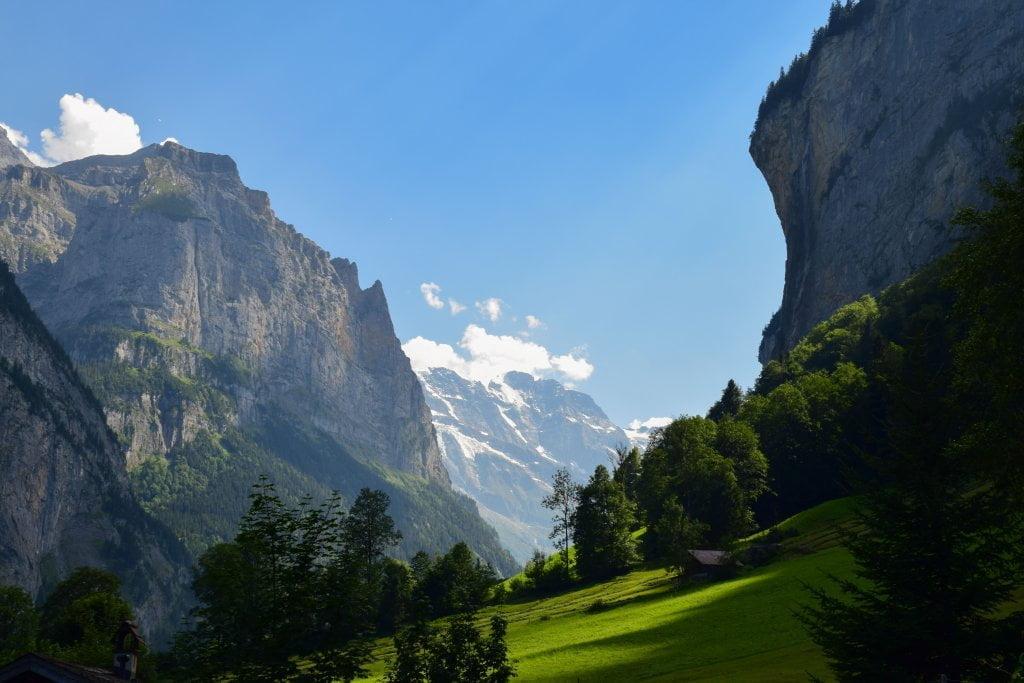 Le perle della Svizzera: natura a Lauterbrunnen.