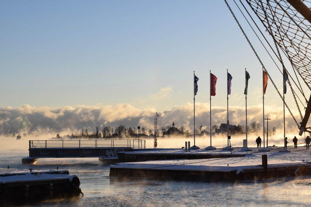 Helsinki vista mare