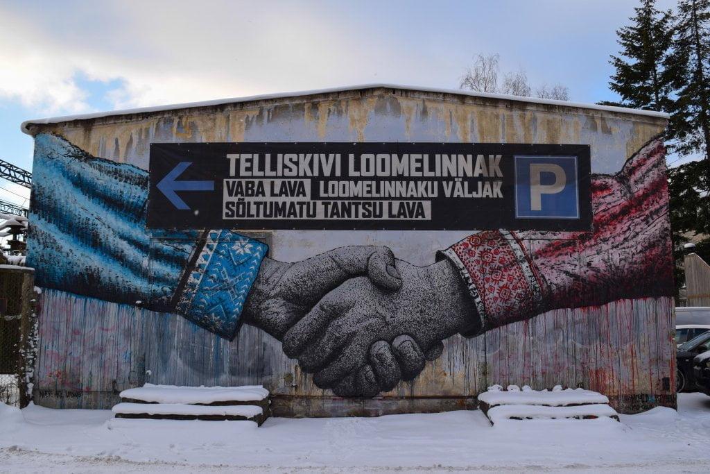 Viaggio a Riga, Tallinn, Helsinki: quartiere Kalamaja, Tallinn