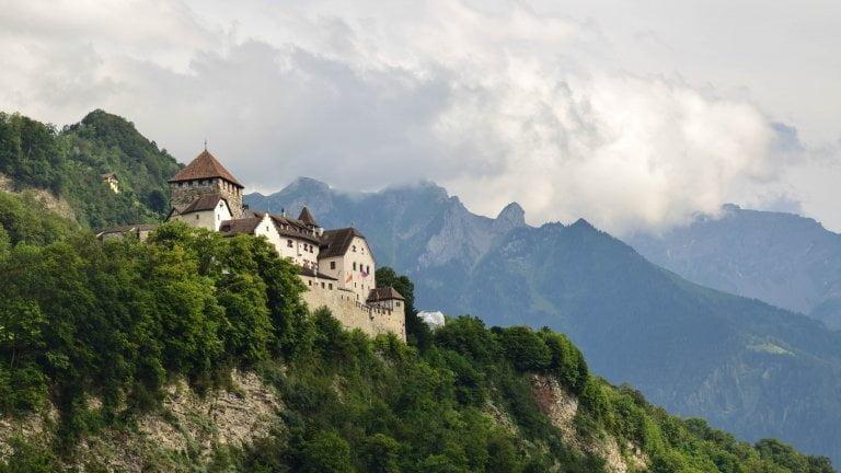 Il Castello del principato del Liechtenstein