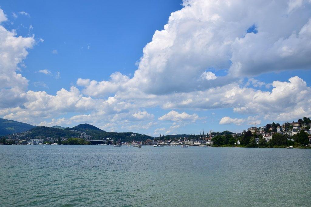 Le bellezze della Svizzera: il lago dei Quattro Cantoni.