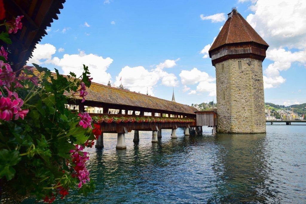 Il Ponte della Cappella, Lucerna.