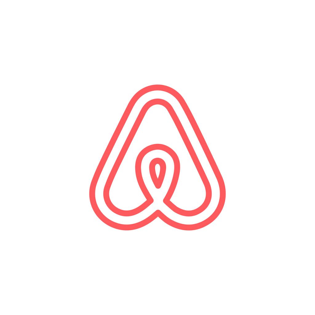 Il simbolo di Airbnb.