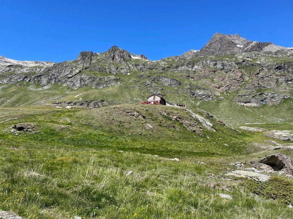 Valle d'Aosta con bambini: il rifugio Benevolo